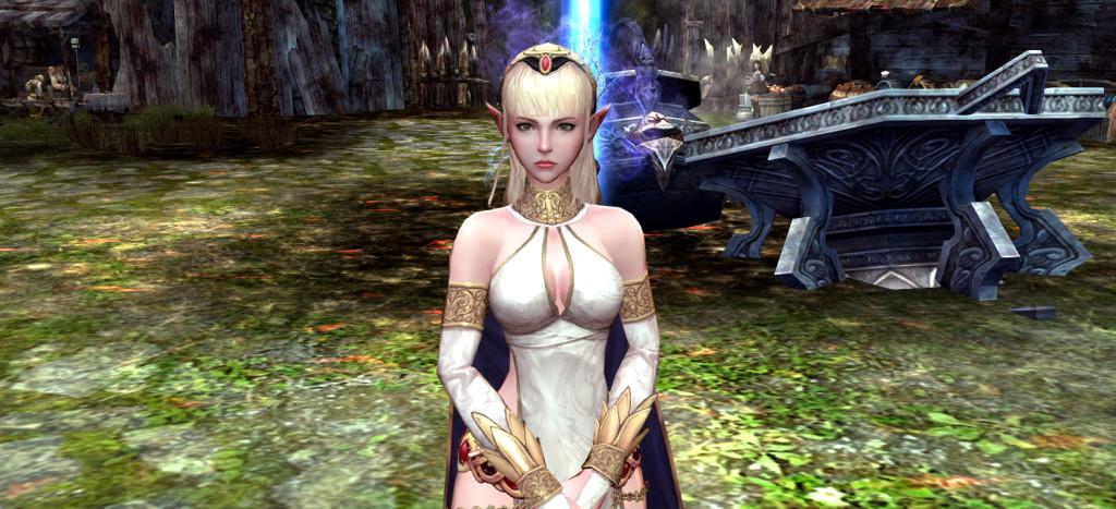 Levina, die erste Questgeberin in EoS