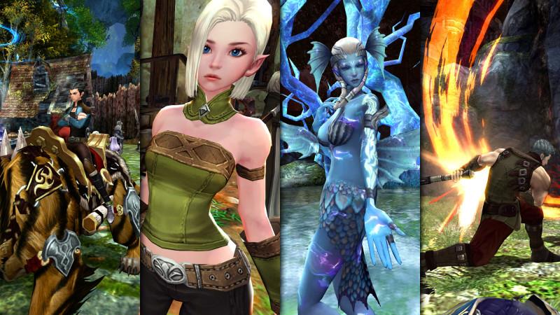 Screenshots zum MMO-Spiel Echo of Soul