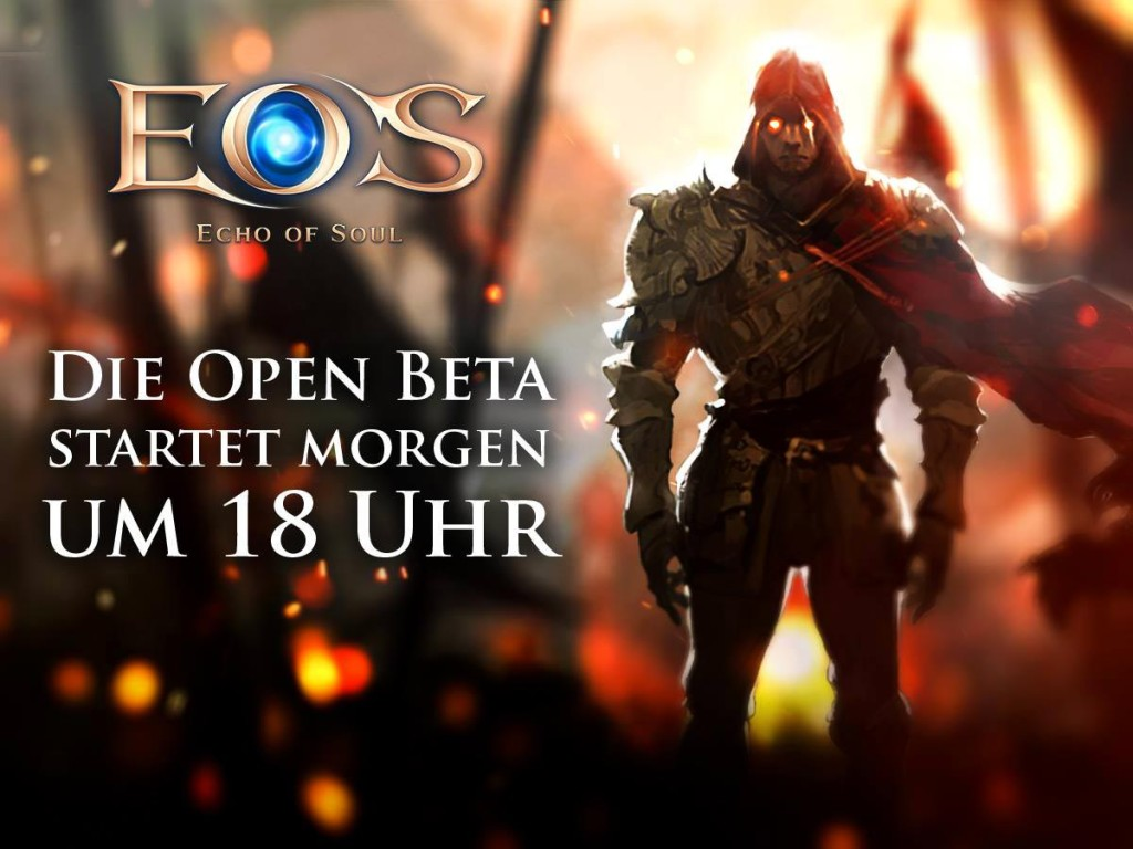 Open Beta von EoS (Echo of Soul)