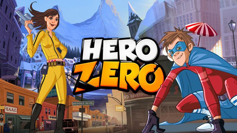 Hero Zero, das kostenlose Superhelden MMO-Spiel