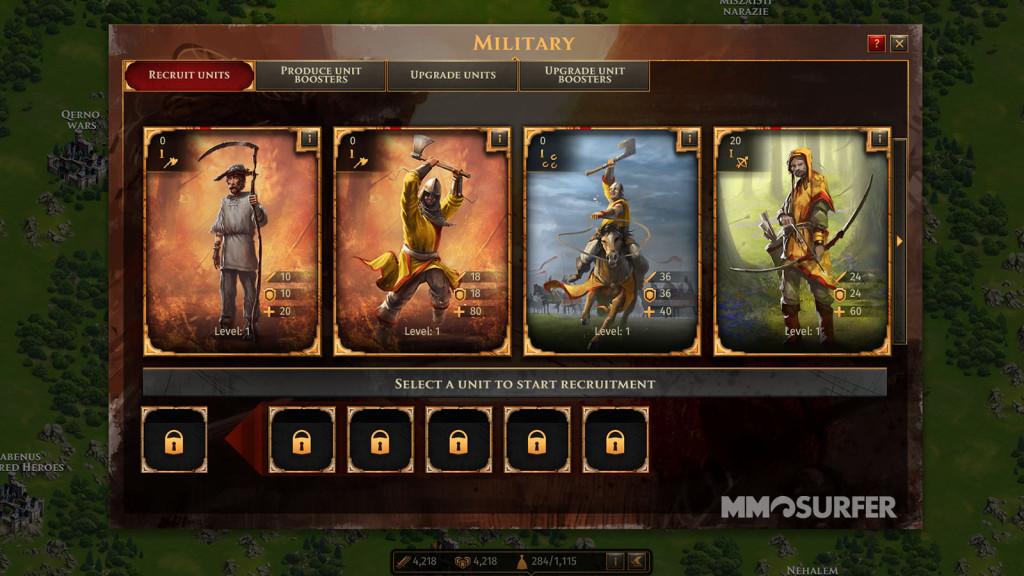 Legends of Honor Strategiespiel