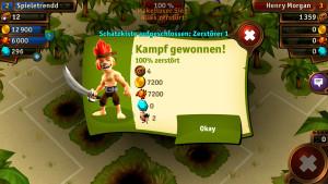 Monkey Bay, das Onlinespiel von Upjers