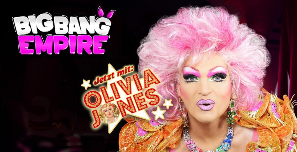 Olivia Jones im Onlinespiel Big Bang Empire