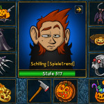 Besondere Halloween-Epics in Shakes und Fidget