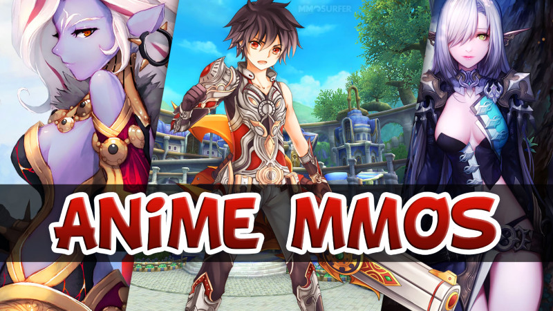 Top 3 Anime MMORPGs 2015 2016