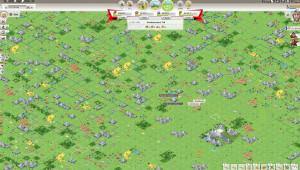 Travian Kingdoms mit der Weltkarte